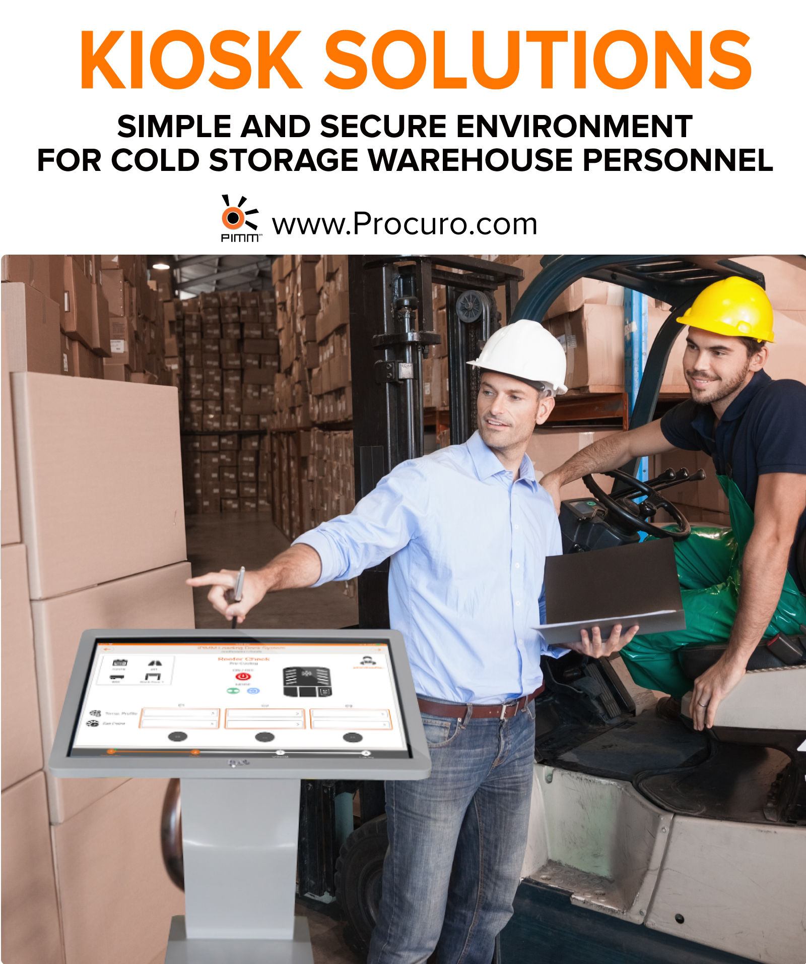 Kiosk Solutions  Simple and Secure Environment for Cold
