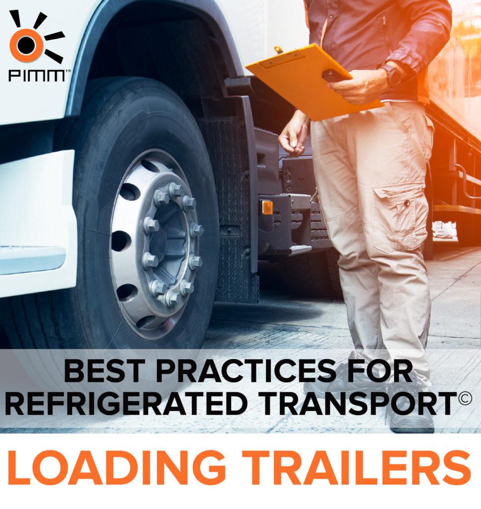 refrigerated transport loading