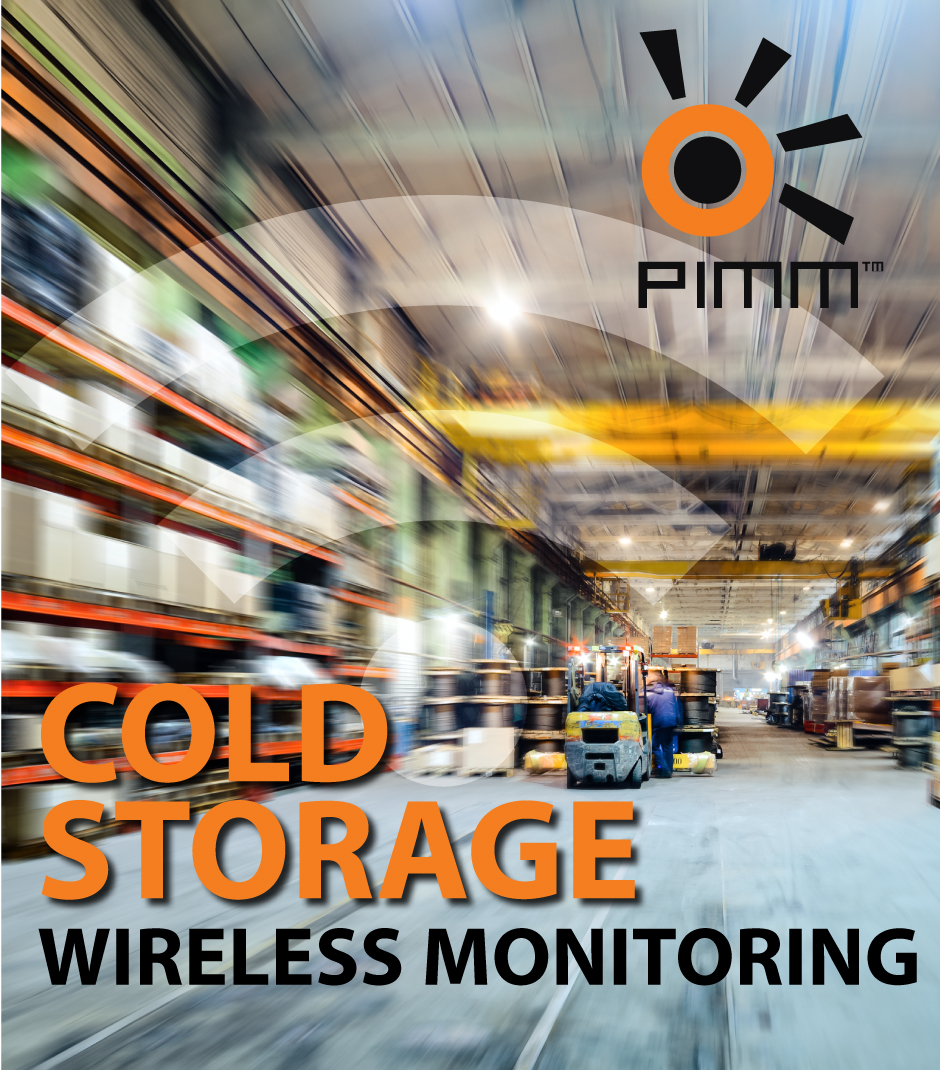 cold storage wireless monitoring