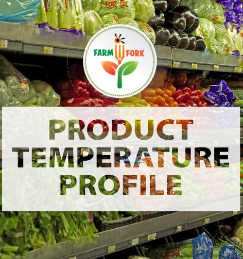 Product temperature profile