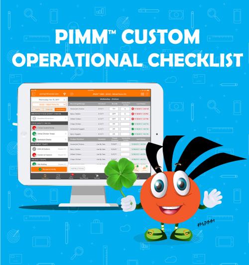 custom operational checklist