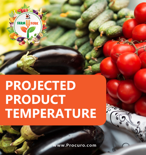 Projected Product Temperature