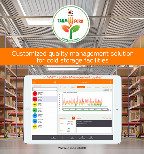 Facility management for cold storage