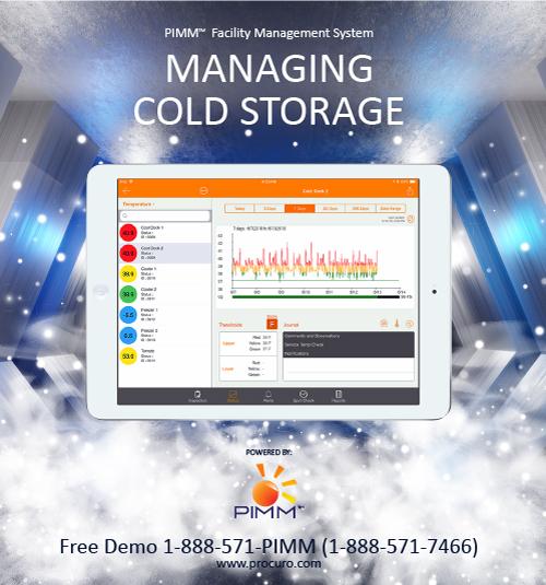 managing cold storage facility