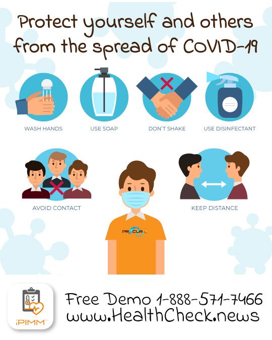 covid-19 health check app
